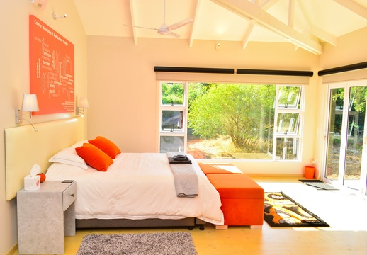 Self catering Unit, Green Monkey Orange