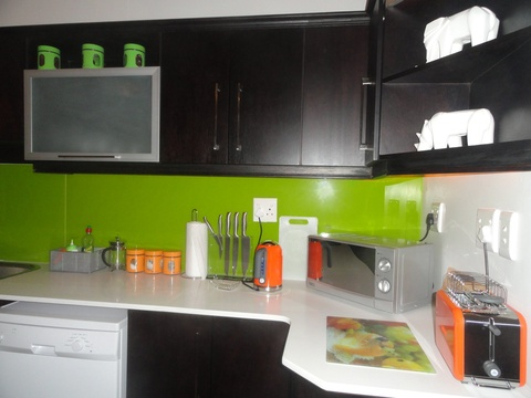 Kitchen, Green Monkey Orange, Boutique, Bushwillow  Collection