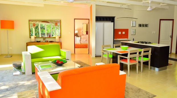 Lounge, Green Monkey Orange, Bushwillow Collection