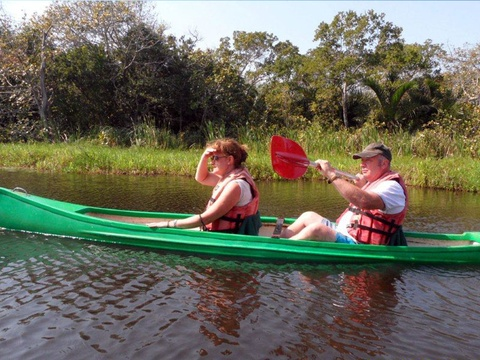Paddling and Canoe safaris
