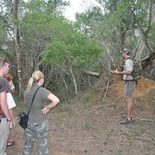 Go on a morning bush walk in Kuleni Game Park with a specialist guide of Bushwillow
